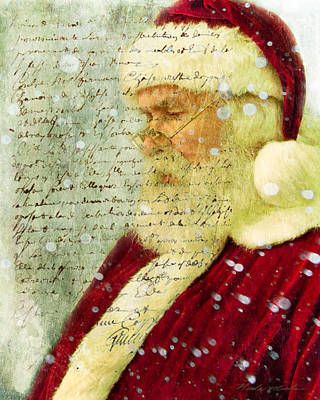 Photograph - Santas Letter  by Nada Meeks