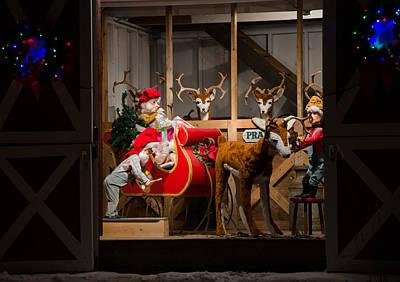Photograph - Santa's Lil Helpers by Susan McMenamin