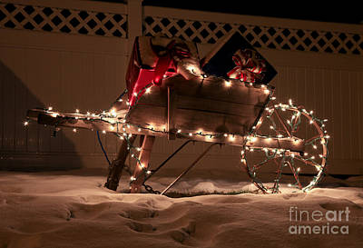 Photograph - Santa's Sleigh by Butch Lombardi