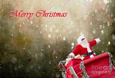 Photograph - Santa's Trip by Nina Silver
