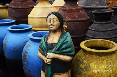 Garden Ornament Photograph - Sante Fe Color 3 by Bob Christopher