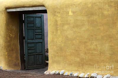 Photograph - Sante Fe Entryway by Bob Christopher