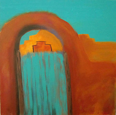 Painting - Sante Fe by Keith Thue