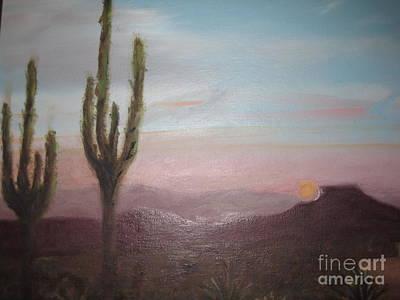 Christo Painting - Sante Fe Sunrise by Carol DENMARK