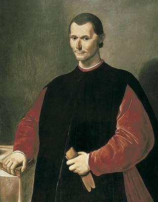 Santi Di Tito 1536-1603. Portrait Art Print