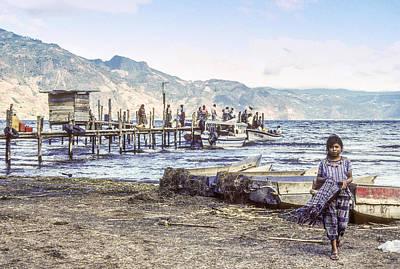Santiago Atitlan Dock Art Print