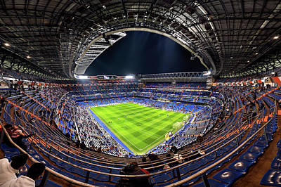 Sports Photograph - Santiago Bernaba?u by Jes?s M. Garc?a
