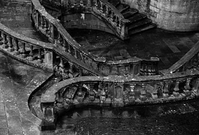 Wall Art - Photograph - Santiago De Compostela Stairs by Mark Sullivan
