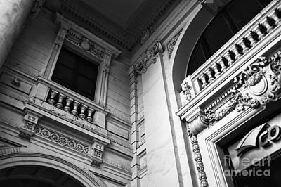 Photograph - Santiago History Mono by John Rizzuto