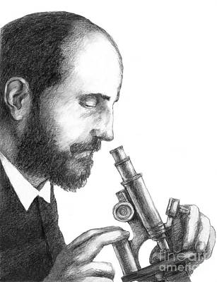 Santiago Ramon Y Cajal Photograph - Santiago Ramon Y Cajal, Scientist by Spencer Sutton