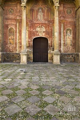 Santo Domingo Church In Granada Art Print by Guido Montanes Castillo
