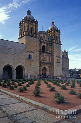 Photograph - Santo Domingo Church Oaxaca by John  Mitchell