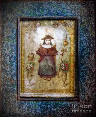Santo Nino De Atocha Art Print