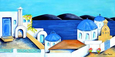 Photograph - Santorini by Carla Parris
