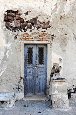 Photograph - Santorini Greece by John Jacquemain