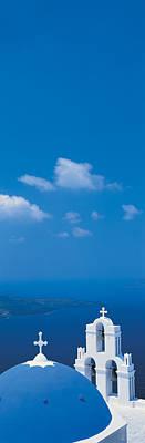 Santorini Island Greece Art Print by Panoramic Images