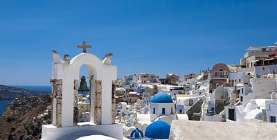 Photograph - Santorini Mid-summer Day by Don McGillis