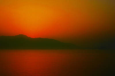 Photograph - Santorini Sunset  by Jim Vance