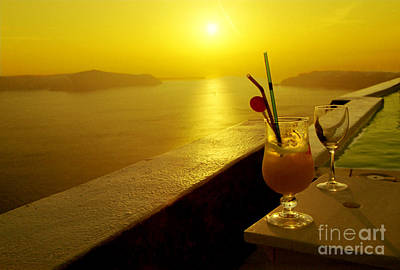 Photograph - Santorini Sunset by Madeline Ellis