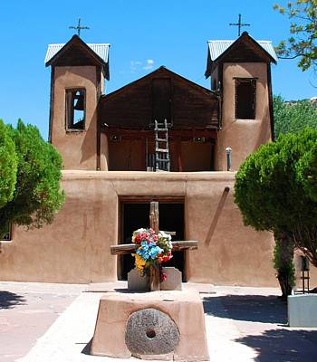 Photograph - Santuario De Chimayo 2 by Dany Lison
