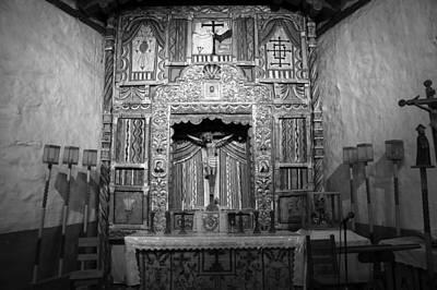 Chimayo Nm Photograph - Santuario De Chimayo Church Interior New Mexico by Mark Goebel