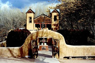 Photograph - Santuario De Chimayo New Mexico by Jacqueline M Lewis