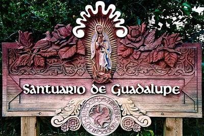 Photograph - Santuario De Guadalupe by Ricardo J Ruiz de Porras
