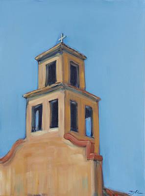 Painting - Santuario De Nuestra Senora De Guadalupe by David  Llanos