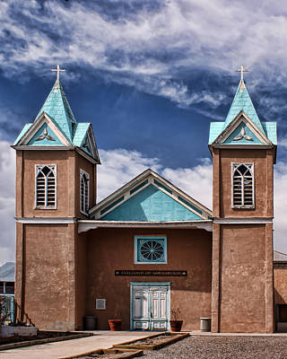 Adove Photograph - Santuario De San Lorenzo by Nikolyn McDonald