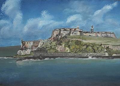 Puerto Rico Painting - Sanwan by Genevieve  Bascetta