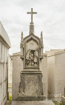 Photograph - Sao Joao Cemetery Monument by Deborah Smolinske