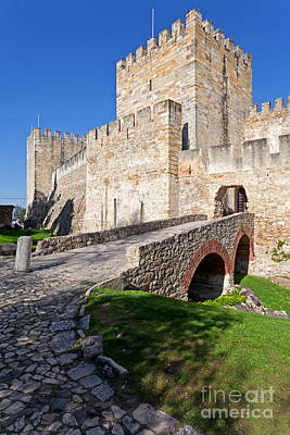 Castle Photograph - Sao Jorge Castle In Lisbon by Jose Elias - Sofia Pereira