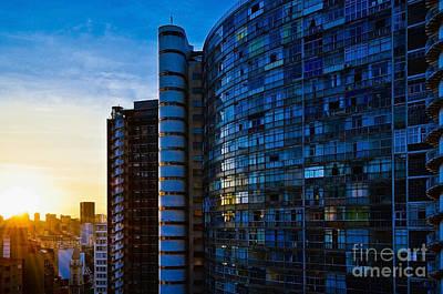 Photograph - Sao Paulo - Brazil - Copan B Side by Carlos Alkmin