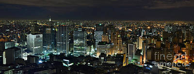 Photograph - Sao Paulo Downtown From Terraco Italia by Carlos Alkmin