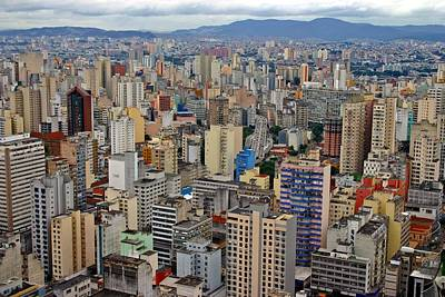 Art Print featuring the photograph Sao Paulo by Henry Kowalski