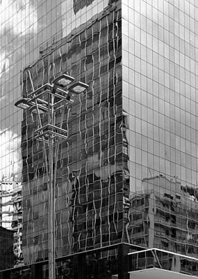 Photograph - Sao Paulo Mirrored Building I by Julie Niemela