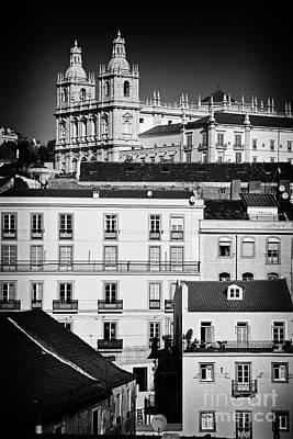 Red Roofs Photograph - Sao Vicente De Fora Monastery by Jose Elias - Sofia Pereira
