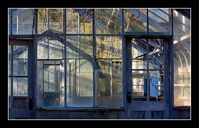 Sapelo Greenhouse - Sapelo Island Original by Thomas Cato
