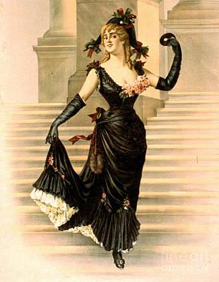 Playbill Photograph - Sapho 1900 by Padre Art