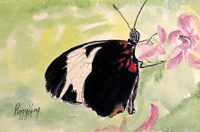 Painting - Sapho Longwing by Peggy King