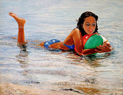 Painting - Sapore Di Mare by Sefedin Stafa