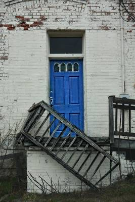 Photograph - Sapphire Door by Emily Stauring