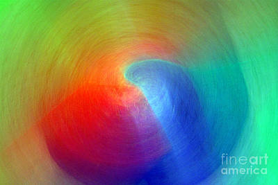 Photograph - Sapphire Light - Ruby Refraction 2 by Douglas Taylor