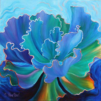 Sapphire Solitaire Original by Sandi Whetzel