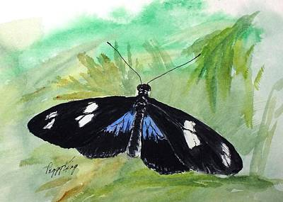 Painting - Sara Longwing by Peggy King