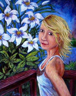 Painting - Sara by Sebastian Pierre