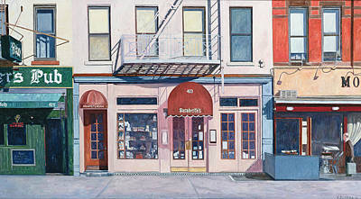 Storefront Painting - Sarabeths by Anthony Butera