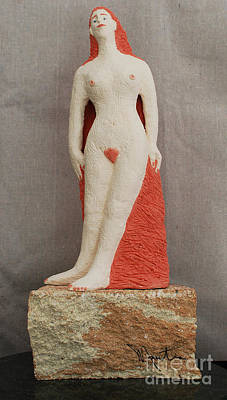 Sculpture - Sarah  by Art Mantia