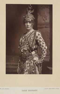 Sarah Bernhardt Art Print by British Library