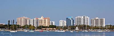 Photograph - Sarasota  Skyline by Mariarosa Rockefeller